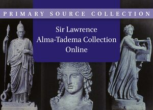 Cover Sir Lawrence Alma-Tadema Collection Online
