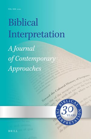 Cover Biblical Interpretation