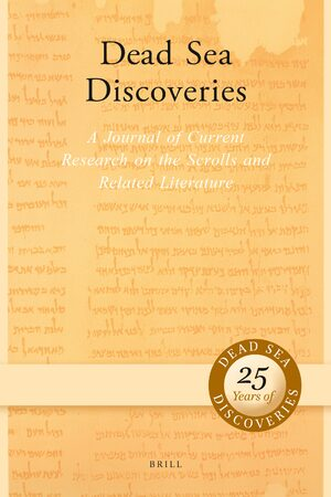 Cover Dead Sea Discoveries