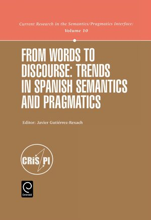 Cover From Words to Discourse
