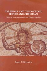 Cover Calendar and Chronology, Jewish and Christian