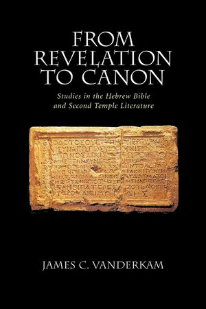Cover From Revelation to Canon