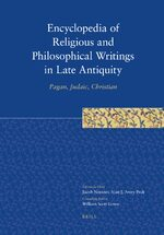 Cover Encyclopedia of Religious and Philosophical Writings in Late Antiquity