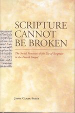 Cover Scripture Cannot Be Broken