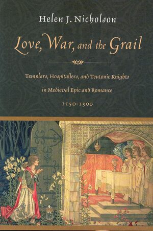 Cover Love, War, and the Grail
