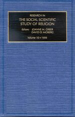 Cover Research in the Social Scientific Study of Religion, Volume 10