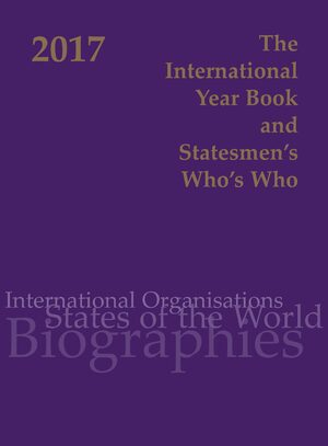 Cover International Year Book & Statesmen's Who's Who 2017