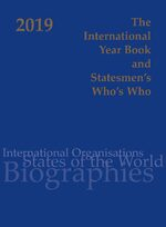 Cover International Year Book & Statesmen's Who's Who 2019