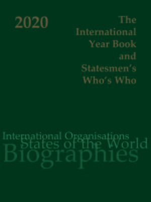 Cover International Year Book & Statesmen's Who's Who 2020