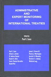 Cover Administrative and Expert Monitoring of International Treaties