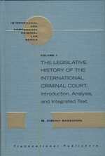 Cover Legal Responses to International Terrorism