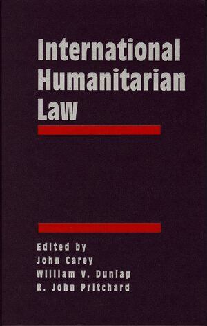 Cover International Humanitarian Law: Origins, Challenges, Prospects (3 vols)