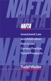 Cover NAFTA Investment Law and Arbitration
