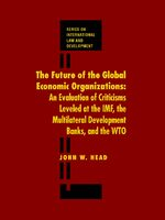 Cover The Future of the Global Economic Organizations