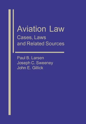Cover Aviation Law: Cases, Laws, and Related Sources