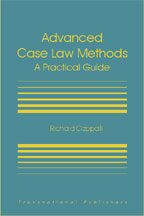 Cover Advanced Case Law Methods: A Practical Course