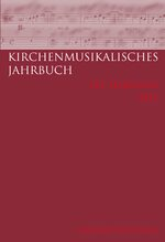 Cover Kirchenmusikalisches Jahrbuch - 101. Jahrgang 2017