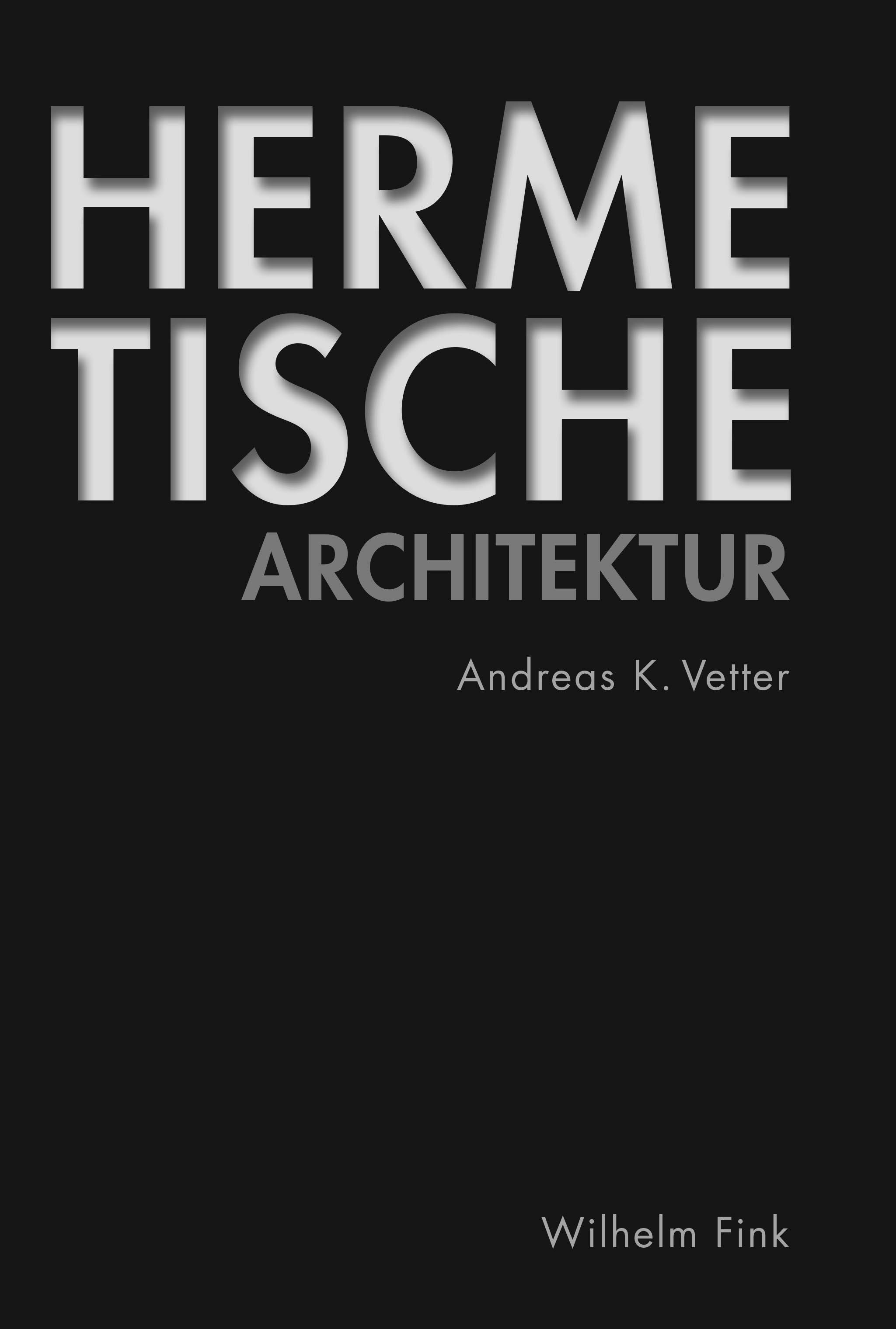 Register in: Hermetische Architektur