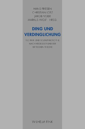 Cover Ding und Verdinglichung
