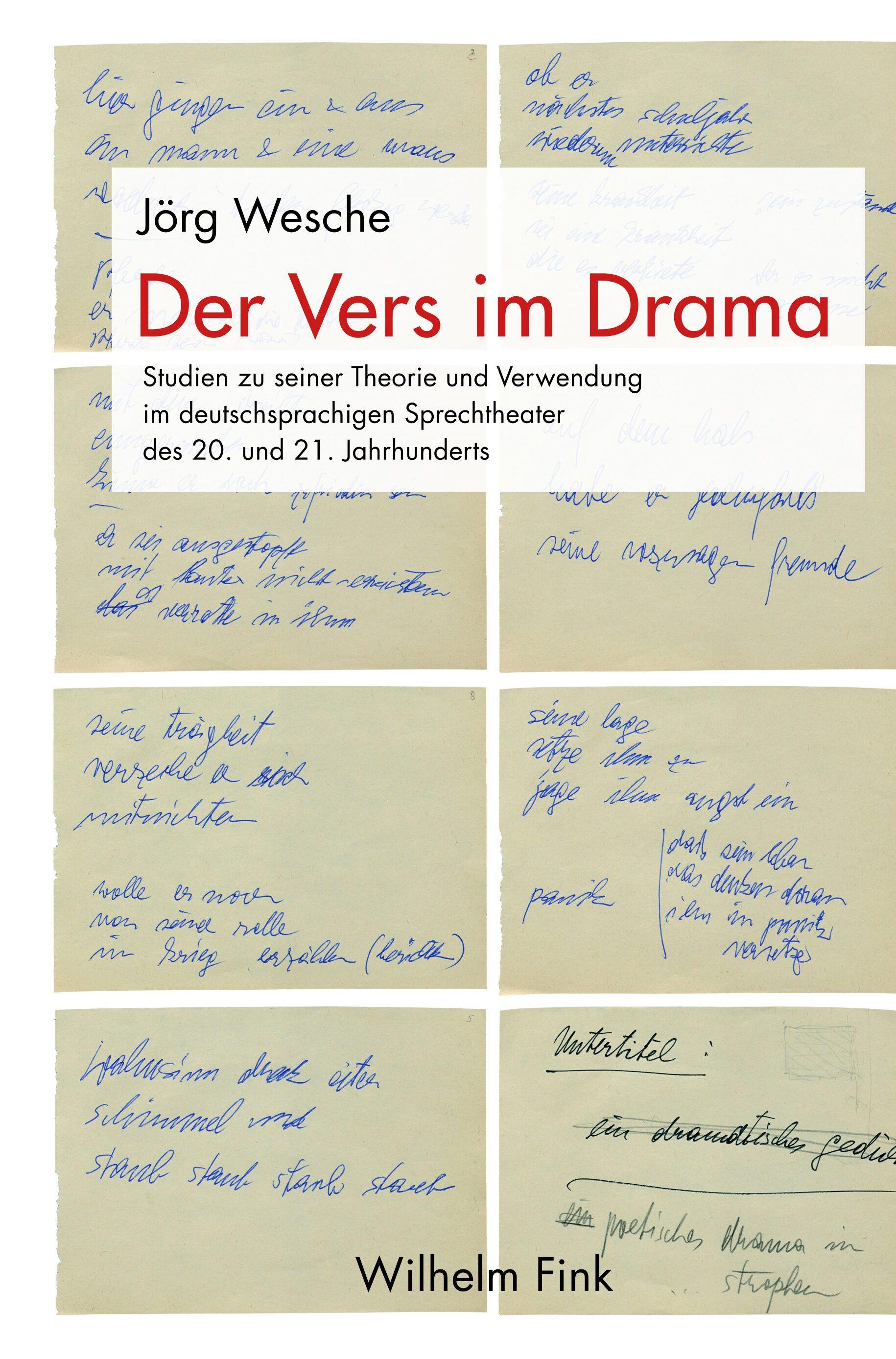 Zur Künstlichkeit Des Verses Im Drama In Der Vers Im Drama