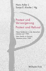 Cover Protest und Verweigerung / Protest and Refusal