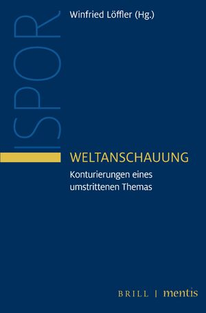 Cover Weltanschauung