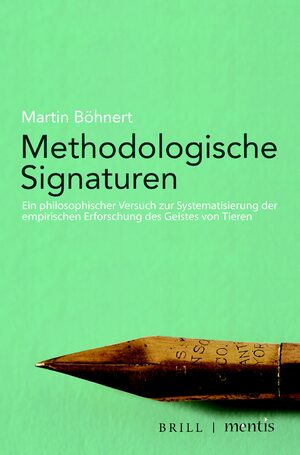 Cover Methodologische Signaturen