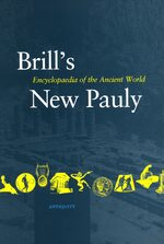 Cover Brill's New Pauly