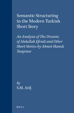 Cover Semantic Structuring in the Modern Turkish Short Story