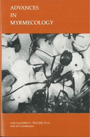 Cover Advances in Myrmecology