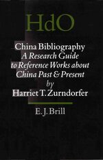 Cover China Bibliography