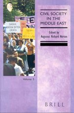Cover Civil Society in the Middle East, Volume 1