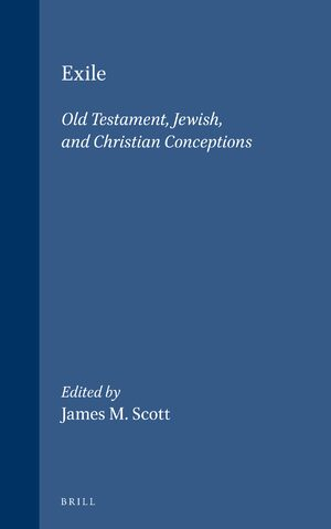 Cover Exile: Old Testament, Jewish, and Christian Conceptions