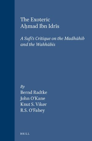 Cover The Exoteric Aḥmad Ibn Idrīs