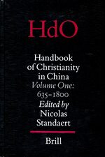 Cover Handbook of Christianity in China
