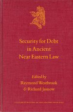 Cover Security for Debt in Ancient Near Eastern Law