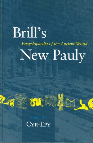 Cover Brill's New Pauly, Antiquity, Volume 4 (Cyr - Epy)