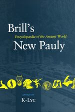 Cover Brill's New Pauly, Antiquity, Volume 8 (Lyd -Mine)