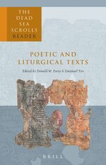 Cover The Dead Sea Scrolls Reader, Volume 5 Poetic and Liturgical Texts