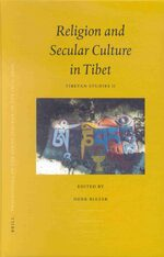 Cover Proceedings of the Ninth Seminar of the IATS, 2000. Volume 2: Religion and Secular Culture in Tibet