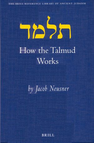 Cover How the Talmud Works