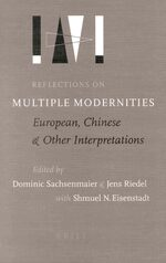 Cover Reflections on Multiple Modernities