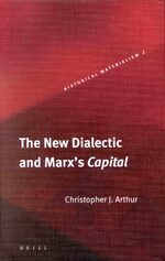 Cover The New Dialectic and Marx's <i>Capital</i>