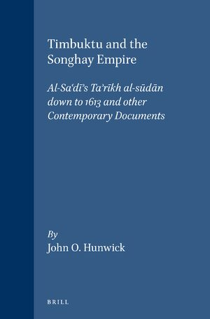 Cover Timbuktu and the Songhay Empire