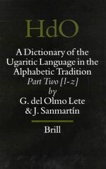 Cover A Dictionary of the Ugaritic Language in the Alphabetic Tradition (2 vols.)