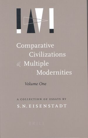 Cover Comparative Civilizations and Multiple Modernities (2 vols)