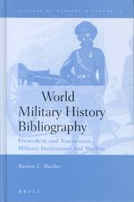 Cover World Military History Bibliography
