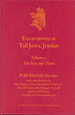 Excavations at Tall Jawa, Jordan, Volume 1 The Iron Age Town