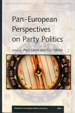 Cover Pan-European Perspectives on Party Politics
