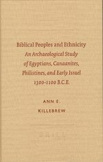 Cover Biblical Peoples and Ethnicity